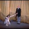 "New York City Ballet production of ""In Memory of..."" Suzanne Farrell takes a bow with Jerome Robbins, choreography by Jerome Robbins (New York)"
