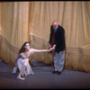 """New York City Ballet production of """"In Memory of..."""" Suzanne Farrell takes a bow with Jerome Robbins, choreography by Jerome Robbins (New York)"""