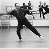 "New York City Ballet Company rehearsal of ""Apollo"" with George Balanchine and dancers, choreography by George Balanchine (New York)"