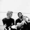 "New York City Ballet rehearsal of ""In the Night"" (L-R) Peter Martins, Violette Verdy, Francisco Moncion, Patricia McBride, Anthony Blum and Kay Mazzo, choreography by Jerome Robbins (New York)"