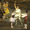 "New York City Ballet production of ""The Magic Flute"" with Katrina Killian, Helgi Tomasson and Ulrik Trojaborg (Oberon) center, choreography by Peter Martins (New York)"