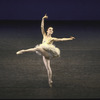 "New York City Ballet production of ""Divertimento No. 15"" with Lauren Hauser, choreography by George Balanchine (New York)"