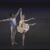 "New York City Ballet production of ""Divertimento No. 15"" with Melinda Roy and Victor Castelli, choreography by George Balanchine (New York)"