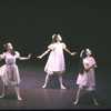 "New York City Ballet production of ""Ives, Songs"" with Margaret Tracey, Katrina Killian and Stacy Caddell, choreography by Jerome Robbins (New York)"