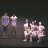 "New York City Ballet production of ""Ives, Songs"" with Michael Byars and Tom Gold, Margaret Tracey, Katrina Killian and Stacy Caddell, choreography by Jerome Robbins (New York)"