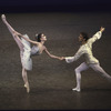 """New York City Ballet production of """"Theme and variations"""" with Lourdes Lopez and Peter Frame, choreography by George Balanchine (New York)"""