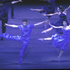 "New York City Ballet production of ""Rhapsody in Blue"" with Lourdes Lopez and Peter Frame, choreography by Lar Lubovitch (New York)"