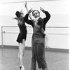 "New York City Ballet rehearsal for ""Jeux"" with Melissa Hayden, John Taras and Allegra Kent, choreography by John Taras (New York)"