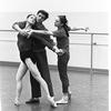 "New York City Ballet rehearsal for ""Jeux"" with Melissa Hayden, Edward Villella and Allegra Kent, choreography by John Taras (New York)"