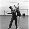 "New York City Ballet rehearsal for ""Jeux"" with Edward Villella and Melissa Hayden, choreography by John Taras (New York)"