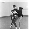 """New York City Ballet rehearsal for """"Jeux"""" with Allegra Kent and Melissa Hayden, choreography by John Taras (New York)"""