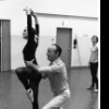 "New York City Ballet rehearsal of ""Glinkaiana"" with George Balanchine and Patricia McBride, choreography by George Balanchine (New York)"