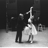 "New York City Ballet rehearsal of ""Illuminations"" with Frederick Ashton and Mimi Paul, choreography by Frederick Ashton (New York)"