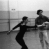 "New York City Ballet rehearsal of ""Glinkaiana"" with George Balanchine, Patricia McBride and Edward Villella, choreography by George Balanchine (New York)"