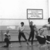 "New York City Ballet rehearsal of ""Dances at a Gathering"" with Sara Leland, Anthony Blum, John Prinz, Patricia McBride and Edward Villella, choreography by Jerome Robbins (New York)"