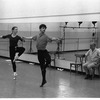 """New York City Ballet rehearsal of """"Dances at a Gathering"""" with John Clifford, Allegra Kent and Jerome Robbins, choreography by Jerome Robbins (New York)"""