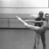 "New York City Ballet rehearsal of ""Dances at a Gathering"" with Edward Villella, Patricia McBride and Jerome Robbins, choreography by Jerome Robbins (New York)"