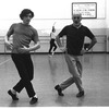 "New York City Ballet rehearsal of ""Dances at a Gathering"" with Edward Villella and Jerome Robbins, choreography by Jerome Robbins (New York)"