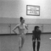 "New York City Ballet rehearsal of ""Dances at a Gathering"" with Patricia McBride, Edward Villella, Jerome Robbins and Gelsey Kirkland, choreography by Jerome Robbins (New York)"