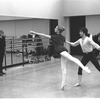 "New York City Ballet rehearsal of ""In the Night"" with Jerome Robbins, Sara Leland and Robert Maiorano, choreography by Jerome Robbins (New York)"