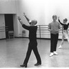 """New York City Ballet rehearsal of """"In the Night"""" with Jerome Robbins, Peter Martins and Carol Sumner, choreography by Jerome Robbins (New York)"""