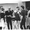 "New York City Ballet rehearsal of ""In the Night"" with Jerome Robbins with dancers including Sara Leland, Anthony Blum and Kay Mazzo, choreography by Jerome Robbins (New York)"