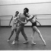 "New York City Ballet rehearsal of ""Four Last Songs"" with Deborah Koolish, Lorca Massine and Johnna Kirkland, choreography by Lorca Massine (New York)"