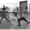 "New York City Ballet rehearsal of ""Four Last Songs"" with Lorca Massine and dancers, choreography by Lorca Massine (New York)"