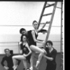 "New York City Ballet rehearsal of ""In the Night"" w. Peter Martins, Patricia McBride, Francisco Moncion, Kay Mazzo, Anthony Blum & Violette Verdy (on floor), choreography by Jerome Robbins (New York)"