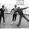 "New York City Ballet rehearsal for ""Goldberg Variations"" with Anthony Blum, Peter Martins and Jerome Robbins, choreography by Jerome Robbins (New York)"