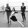 "New York City Ballet rehearsal for ""Goldberg Variations"" with Jerome Robbins, Susan Hendl, Anthony Blum and Peter Martins, choreography by Jerome Robbins (New York)"