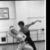 "New York City Ballet rehearsal for ""The Goldberg Variations"" with Helgi Thomason and Patricia McBride, choreography by Jerome Robbins (New York)"