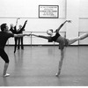 "New York City Ballet rehearsal for ""Goldberg Variations"" with Anthony Blum and Susan Hendl, choreography by Jerome Robbins (New York)"