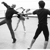 "New York City Ballet rehearsal for ""Goldberg Variations"" with Jerome Robbins, Anthony Blum and Susan Hendl, choreography by Jerome Robbins (New York)"