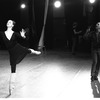 """New York City Ballet rehearsal of """"Chopiniana"""", with George Balanchine and Susan Hendl, staged by Alexandra Danilova after Michel Fokine (New York)"""