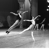"New York City Ballet rehearsal of ""Chopiniana"", with George Balanchine, Kay Mazzo and Peter Martins, staged by Alexandra Danilova after Michel Fokine (New York)"