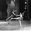 """New York City Ballet rehearsal of """"Chopiniana"""", with George Balanchine, Kay Mazzo and Peter Martins, staged by Alexandra Danilova after Michel Fokine (New York)"""
