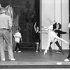 "New York City Ballet rehearsal for ""Coppelia"" with Patricia McBride and Mikhail Baryshnikov, choreography by George Balanchine (Saratoga)"