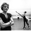 "New York City Ballet rehearsal  of ""Calcium Light Night"" with Peter Martins, Heather Watts and Daniel Duell, choreography by Peter Martins (New York)"