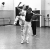 "New York City Ballet rehearsal for ""The Magic Flute"" with Peter Martins and Darci Kistler, choreography by Peter Martins (New York)"