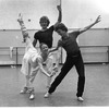 "New York City Ballet rehearsal for ""The Magic Flute"" with Peter Martins, Ib Andersen and Darci Kistler, choreography by Peter Martins (New York)"