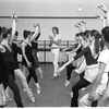 """New York City Ballet rehearsal for """"Concerto for Two Solo Pianos"""" with Peter Martins and dancers, choreography by Peter Martins (New York)"""