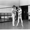 """New York City Ballet rehearsal for """"Concerto for Two Solo Pianos"""" with Peter Martins and Heather Watts, choreography by Peter Martins (New York)"""