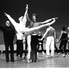 """New York City Ballet rehearsal of """"Ives, Songs"""" with Jerome Robbins, Simone Schumacher and Brian Reeder, choreography by Jerome Robbins (New York)"""
