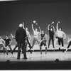 "New York City Ballet rehearsal of ""Ives, Songs"" with Jerome Robbins and dancers, choreography by Jerome Robbins (New York)"