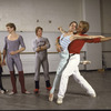"New York City Ballet - rehearsal of ""A Schubertiad"" with Kyra Nichols, Sean Lavery, Bart Cook, Heather Watts and Peter Martins, choreography by Peter Martins (New York)"