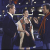New York City Ballet production filming for NET Dance In America, with Robert La Fosse and Kyra Nichols and Peter Martins, choreography by Peter Martins (New York)