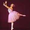 "New York City Ballet - Studio portrait of Suki Shorer in costume for ""Glinkaiana"", choreography by George Balanchine (New York)"