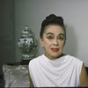Portrait of Martha Graham at home