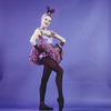 "New York City Ballet - Studio portrait of Carol Sumner in ""Western Symphony"", choreography by George Balanchine (New York)"